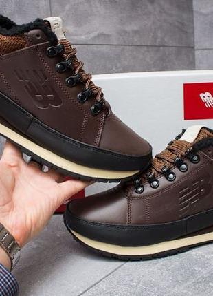 Зимние ботинки New Balance 754. Натуральная кожа! ТОП КАЧЕСТВО!