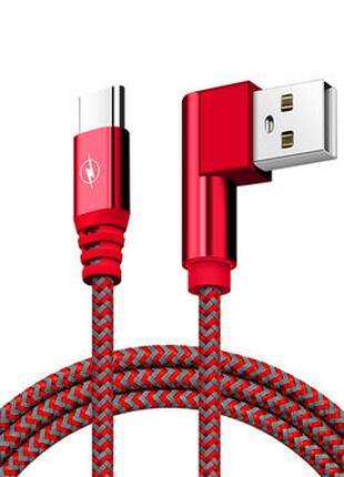 Bakeey 90-градусный USB Type C 2A зарядный кабель