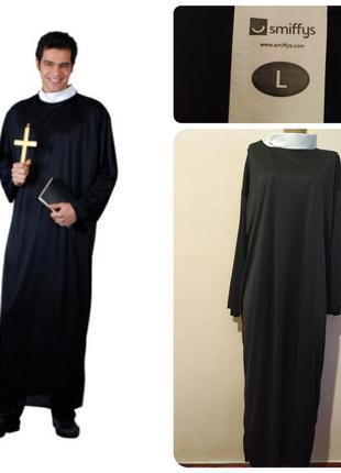 Костюм католического священника на хэллоуин, для спектакля или...