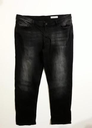 Фирменные укороченные джинсы слим