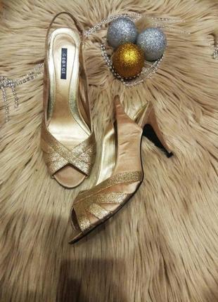 Атласные туфли, босоножки