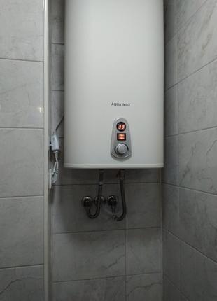 Установка водяной коммуникации под бойлер