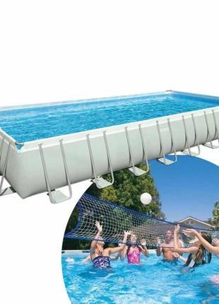 Установка сборка каркасных бассейнов Intex  Bestway