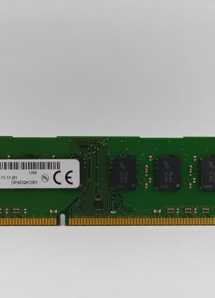 Оперативная память Micron DDR3 4Gb 1600MHz PC3-12800U (MT16JTF...