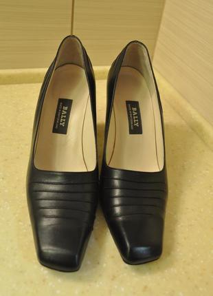 Оригинальные туфли bally швейцария