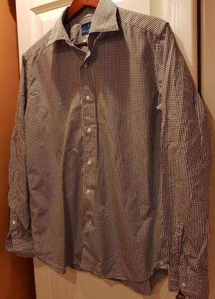 Итальянская рубашка mastaiferretti 41/42