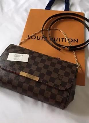 Louis Vuitton клатч сумка