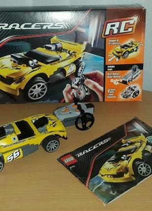 Lego Лего Оригінал!!! Раритет!!! Racers Track Turbo RC 8183