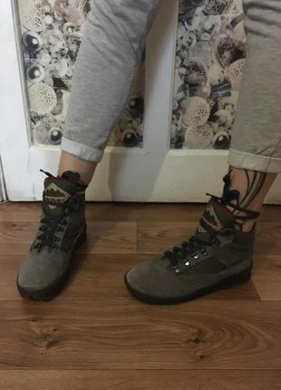 Мои фирменные кожаные ботиночки dunlop рр 39-40+ бесплатная уп...