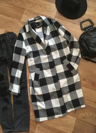 Легкое пальто жакет накидка от lost ink (англия) рр m-l