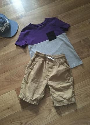Стильные шорты от george на 5-6 лет