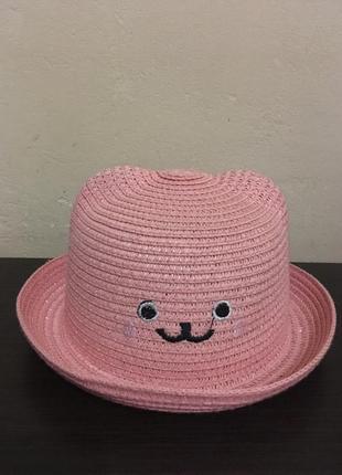 Милая красивая шляпка для девочки 3-5 лет+бесплатная упаковка