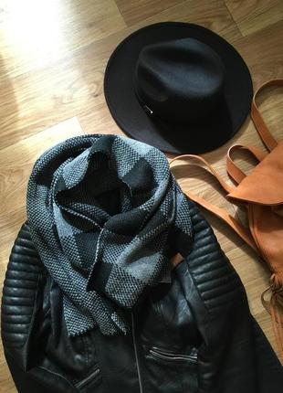 Новый теплый шарф палантин