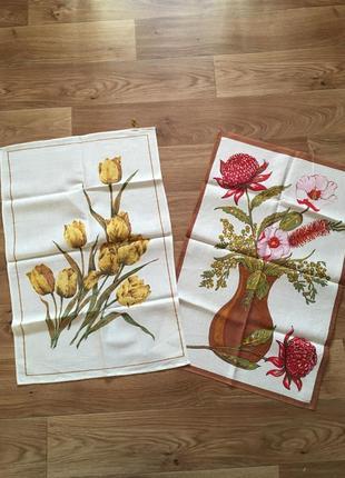Лот новые полотенца скатерти
