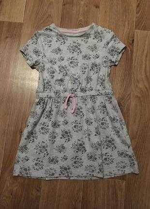 Наше любимое платье от f&f на девочку 4-6 лет