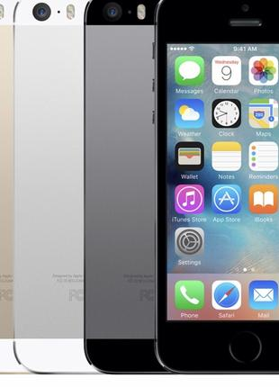 iPhone 5s 32 gb Space Grey, Gold, Silver