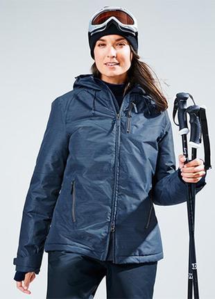Мембранная лыжная термо куртка tcm tchibo германия размер 40 евро