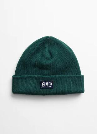 Мужская теплая зимняя шапка gap шапки бини мужские оригинал сша