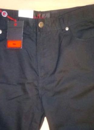 Новые черные коттоновые брюки PIERRE CARDIN jeans