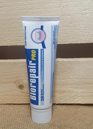 Зубная паста biorepair pro для профилактики кариеса зубов и им...