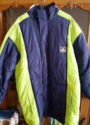 Куртка adidas зимняя