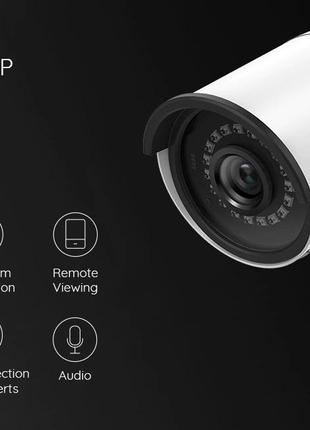 Reolink RLC-410 PoE 5MP уличная камера IP66 outdoor Camera Onvif