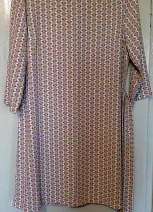 Стильное платье с поясом
