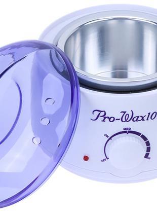 Нагреватель для горячего воска воскоплав Pro Wax 100 JG117 Whi...