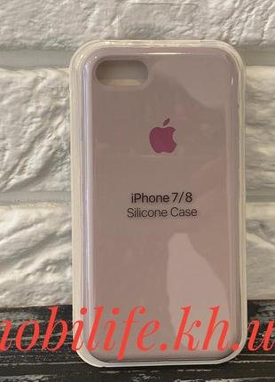 Silicon Case Original Apple iPhone 7,8,SE 2020/