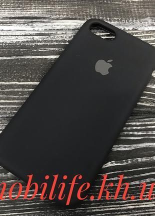 Silicon Case Original Apple iPhone 7,8,SE 2020/Черный/Высокое ...