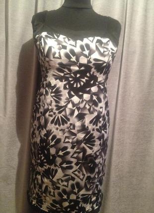Облегающее платье сарафан большого размера.345