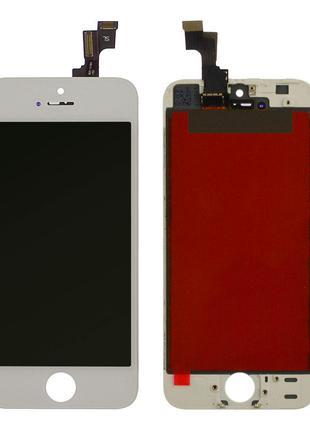Дисплей iPhone 5s / SE с тачскрином (White) Original OEM в рамке