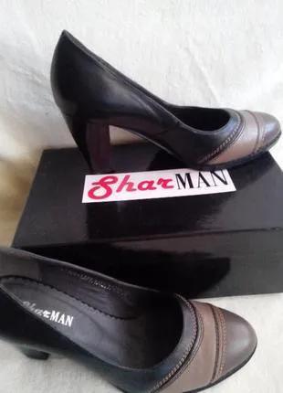 Туфли женские кожа р.39
