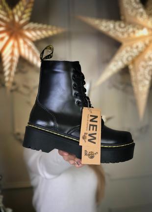 """Женские зимние ботинки Dr. Martens JADON """"Black"""""""