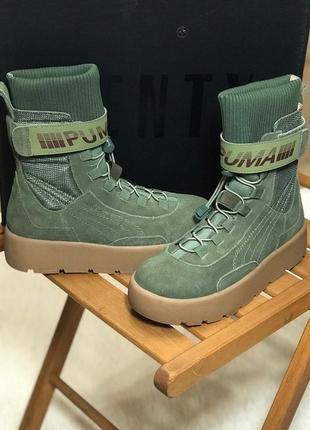 Puma x fenty scuba boot olive (демисезон./еврозима)