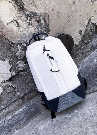 Рюкзак jordan retro 11 white копия