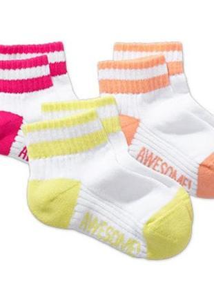Комплект спортивных носочков - 3 пары - tchibo - хлопок, утепл...