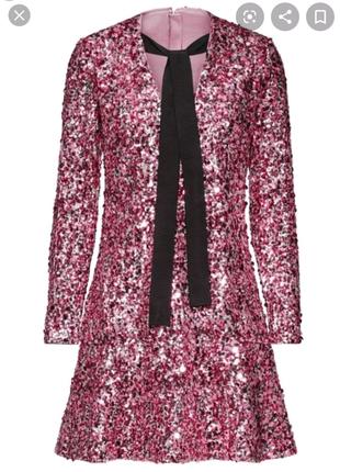 Платье в пайетках Н&М