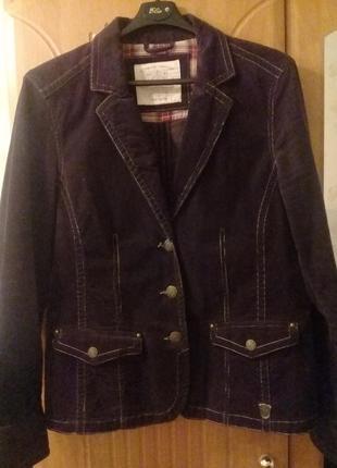 Вельветовый жакет блейзер пиджак том тейлор