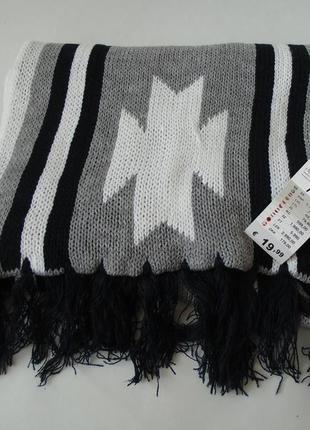 Объемный  шарф terranova италия