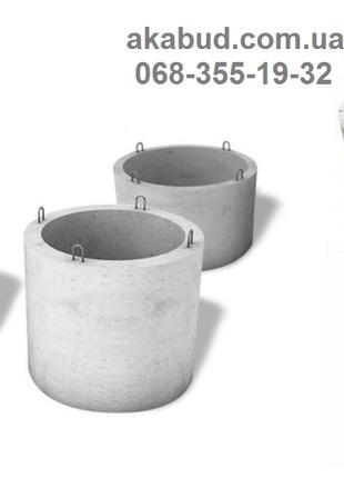 Предлагаем заводские прочные железобетонные кольца ЖБИ
