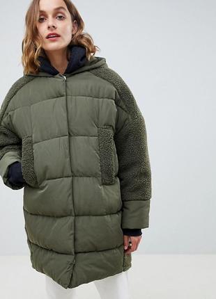 Гибридная куртка тедди