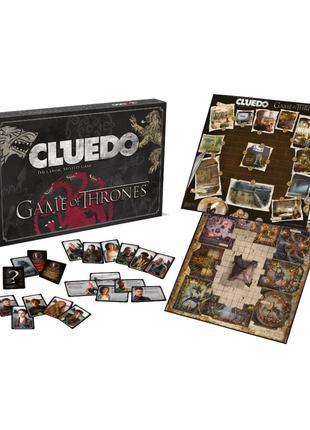 Офіційна настільна гра CLUEDO Game of Thrones