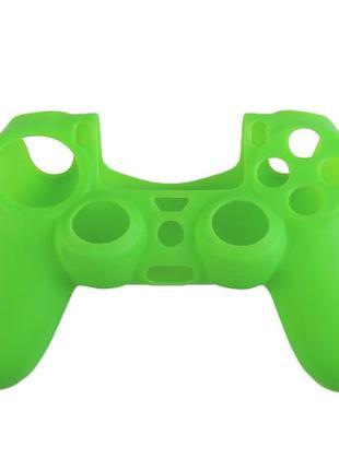 Силиконовый чехол Game Teh X для джойстика PS4 Зеленый (Арт. 1...