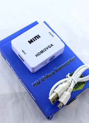 Конвертер HDMI to VGA / VGA 001