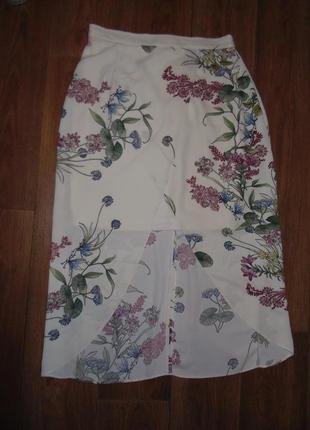 Роскошная юбка с запахом