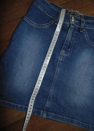 Джинсовая юбка 27 рр