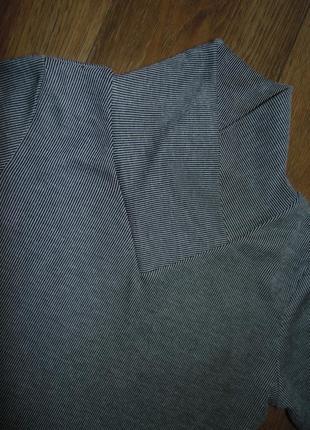 Платье туника с воротником