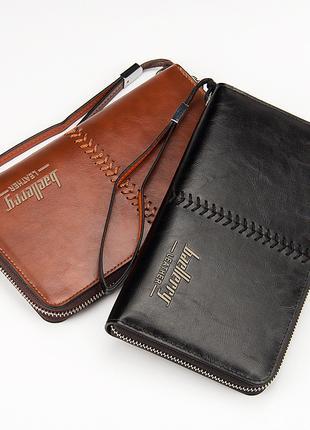 Мужской клатч Baellerry Leather   Кошелек   Портмоне.