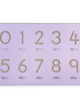 Набор для обучения Viga Toys Написание цифр (50859)